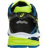 asics M's Gel-Pulse 7 G-TX Shoes Black/Flash Yellow/Mosaic Blue